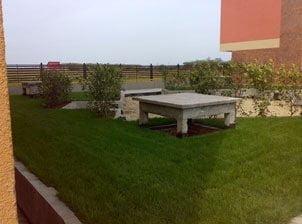 Hidroizolatie terasa cu vegetatie